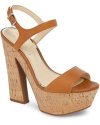 Jessica Simpson - Divella Platform Sandal - Lyst
