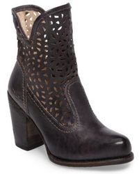 Bed Stu | Irma Perforated Boot | Lyst