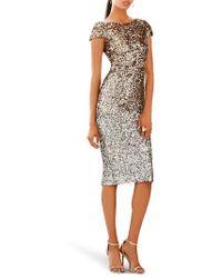 Dress the Population | Marcella Ombre Sequin Body-con Dress | Lyst
