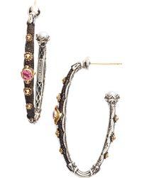Konstantino - Hoop Earrings - Lyst