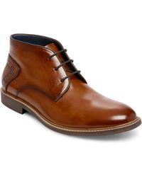 Steve Madden - Backster Plain Toe Chukka Boot - Lyst