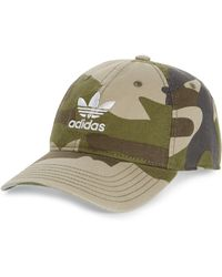 3e236c5bb3396 adidas Originals - Embroidered Trefoil Ball Cap - Lyst