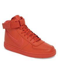 Nike - Vandal High Supreme Leather Sneaker - Lyst