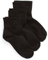 Nordstrom - Everyday 3-pack Ankle Socks - Lyst