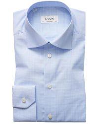 Eton of Sweden   Contemporary Fit Plaid Dress Shirt   Lyst