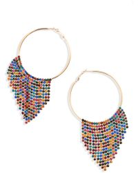 Natasha Couture - Fringe Earrings - Lyst