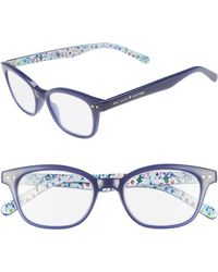 a363681200 Kate Spade Zabrina Cat-eye Reading Glasses in Pink - Lyst