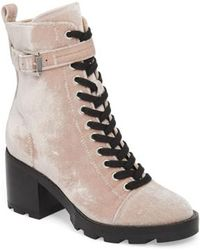 Marc Fisher - Waren Ii Combat Boot - Lyst