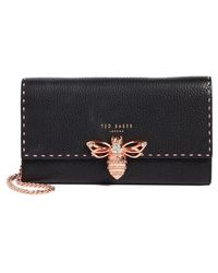 Ted Baker - Janese Bee Embellished Matinee Wallet - Lyst