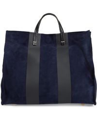 Clare V. - Simple Stripe Leather Tote - Lyst