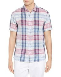 Tommy Bahama - Zuma Plaid Sport Shirt - Lyst