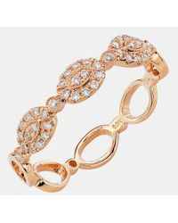 Bony Levy - Oval Diamond Stackable Ring (nordstrom Exclusive) - Lyst