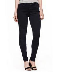 PAIGE - Transcend - Leggy High Waist Ultra Skinny Jeans - Lyst