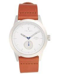 Triwa | 'spira' Leather Strap Watch | Lyst