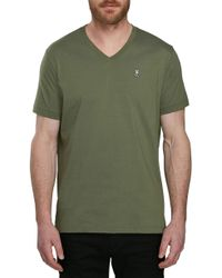Psycho Bunny - V-neck T-shirt - Lyst