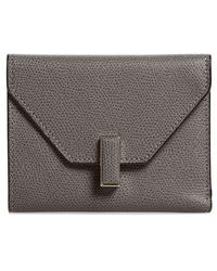 Valextra - Iside Leather Trifold Wallet - - Lyst