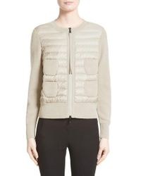 Moncler - Coreana Quilted Knit Jacket - Lyst