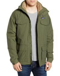 Patagonia - Isthmus Wind Resistant Water Repellent Hooded Parka - Lyst