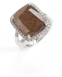 John Hardy | Classic Chain Gemstone Ring | Lyst
