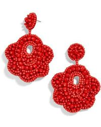 BaubleBar - Merralina Beaded Drop Earrings - Lyst