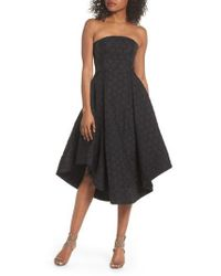 C/meo Collective - Magnetise Strapless Dress - Lyst