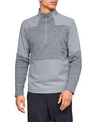 a429903e1 Under Armour Fleece Storm Printed Logo Hoodie in White for Men - Lyst