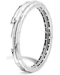 John Hardy - Bamboo Small Double Coil Bracelet - Lyst
