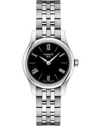 Tissot - Tradition 5.5 Lady Round Bracelet Watch - Lyst