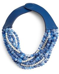 Fairchild Baldwin - Amelia Beaded Collar Necklace - Lyst