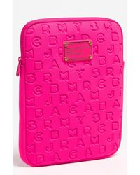 Marc Jacobs Marc By 'dreamy' Neoprene Tablet Case - Pink