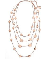 Karine Sultan - Manon Layered Necklace - Lyst