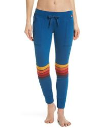 Aviator Nation - Moto Stripe Sweatpants - Lyst