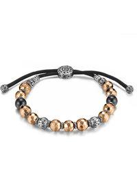 John Hardy - Men's Hammered Bead Bracelet - Lyst