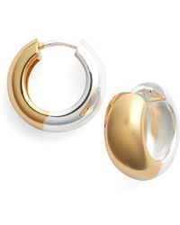 Argento Vivo - Hoop Earrings - Lyst
