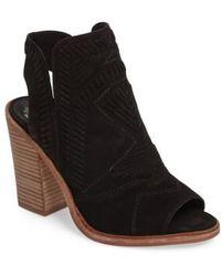 Vince Camuto | Karinta Block Heel Bootie | Lyst