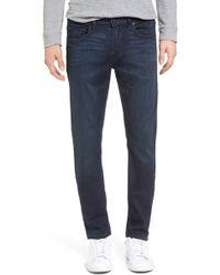 PAIGE - Croft Transcend Skinny Fit Jeans - Lyst