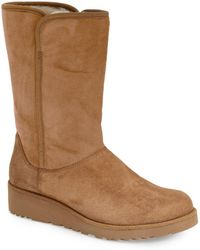 UGG - Ugg 'amie - Classic Slim(tm)' Water Resistant Short Boot - Lyst