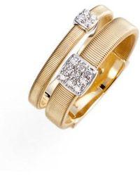 Marco Bicego - Masai Two Strand Diamond Ring - Lyst