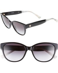 Max Mara - Leisure 55mm Cat Eye Sunglasses - Lyst