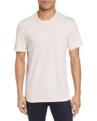 James Perse - Crewneck Jersey T-shirt - Lyst