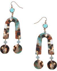 Nakamol - Cline Resin Drop Earrings - Lyst