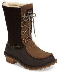 Woolrich - Fully Woolly Waterproof Snow Boot - Lyst
