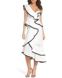 Keepsake - My Everything One-shoulder Asymmetric Dress - Lyst