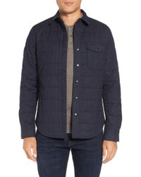 Bonobos - Quilted Herringbone Shirt Jacket - Lyst