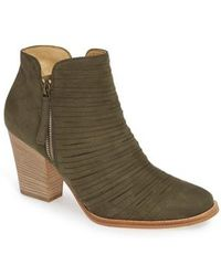 Paul Green - Malibu Sliced Zip Bootie - Lyst