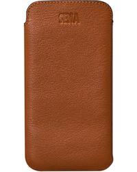 Sena - Ultraslim Iphone 6/7/8 Leather Sleeve - - Lyst
