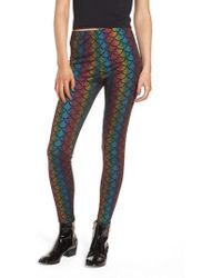 Jaded London - Rainbow Mermaid Leggings - Lyst