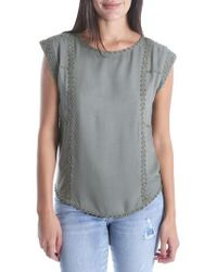 Kut From The Kloth - Nenna Embellished Top - Lyst