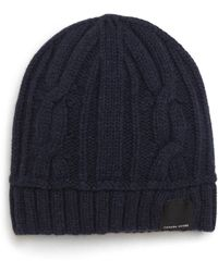 Canada Goose - Cabled Merino Wool Toque Beanie - Lyst