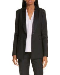LEWIT - Tuxedo Jacket - Lyst